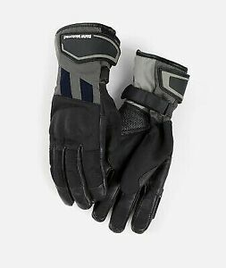 BMW Motorrad GS Dry Motorcycle Gloves Black Blue Size 6 1/2 76218395267