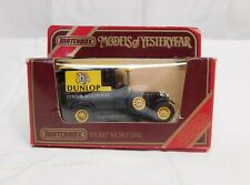 MATCHBOX MODELS OF YESTERYEAR Y5 1927 TALBOT VAN DUNLOP