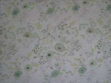 """DESIGNERS GUILD CURTAIN FABRIC """"Wild Flower"""" 3.35 METRES WILLOW  F2005/02"""