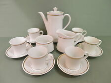 "Royal Worcester-  Coffee set -15 Pcs, Pattern: ""Ensign"""