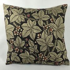 "William Morris Bramble Bullrush Cushion Cover 17""x17""  Stunning Fabric"