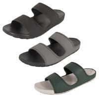 Fitflop Mens Lido Double Slide Sandals In Neoprene