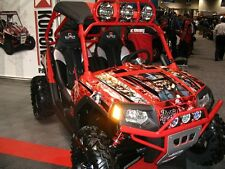 AMR RACING GRAPHICS POLARIS RZR 800 RZRS STICKER KIT HR
