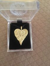 Erte Heart Neclace Limited Edition Gold Jewelry