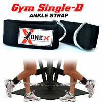 Gym Ankle Strap Leg Cable Gym Attachment Pulley Machine Weight Lifting Stretch