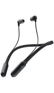 Skullcandy S2IQW-M448 Ink'D+ Wireless In-Ear Headphones - Black - New