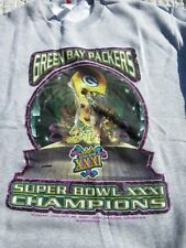 Vintage Starter Green Bay Packers Super Bowl XXXI Champions Sweater Size XL
