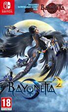 Bayonetta 2 + Bayonetta 1 (Switch) Brand New & Sealed UK PAL Quick