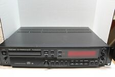 Tascam CD-RW900MKII Professional CD Recorder Player w Remote Manual Cables CDRWs
