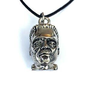 Gothic Horror  Rockabilly Goth Punk Dr Frankenstein Monster Pendant Necklace