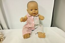 """Berenguer 14"""" Vinyl Jointed Chubby Cheek Baby Doll-Open Mouth"""