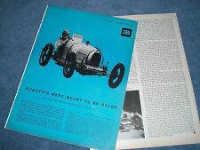 "1960 Bugatti Type 37 Vintage Race Car Info Article Bugattis Were Meant To Race"""