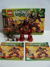LEGO NINJAGO Samurai Mech 9448 Complete Box Instructions Snike Bytar Minifigures