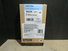 EPSON T6025 Light Cyan Ultrachrome K3 Ink Epson Stylus PRO 7800/9800/7880/9880