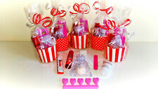 6 x Older Girls Teenager Ladies Luxury Pre Filled Pamper Party Bags Sleepovers
