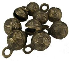Goldene Handglocke mit Muster guter Klang Bronze