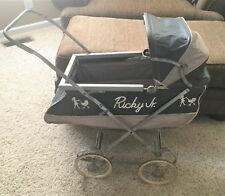 RARE Lucille Ball I LOVE LUCY RICKY JR. BABY CARRIAGE DOLL CARRIAGE