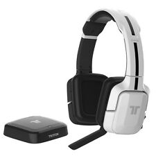 Mad Catz Tritton Kunai Wireless Stereo Gaming Headset for Xbox 360 PS3 PS4 WHITE