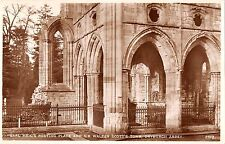 BR80453 earl haig  resting place sir walter scott s tomb dryburgh abbey scotland