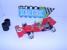 SCALEXTRIC EXIN C-48 FORD TYRRELL 001 F1 #8  RED  J.STEWART EXCELENTE CONDICION