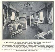1910 Saloon For King Edward Built By London North West Railway