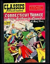 CLASSICS ILLUSTRATED #24 VF HRN87 (CONNECTICUT YANKEE IN KING ARTHUR'S COURT)