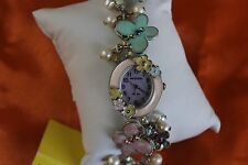 Kim Rogers Quartz Ladies Watch with a  Pretty Flower Band F94