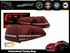 FEUX ARRIERE ENSEMBLE LDVWE3 VW GOLF 7 2013 2014 2015 2016 2017 LED R LOOK
