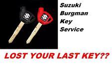 SUZUKI BURGMAN 250 400 650  ECU CDI key programming LOCK SET lost key ?