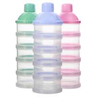 5 Layers Baby Milk Powder Dispenser Food Container Storage Feeding Box (Random)