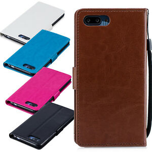 Case for Huawei Honor 10 Cover Leather Flip Wallet Style Stand Magntic Luxury