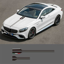 High quality Vinyl Car Hood Sticker Decals Body Kit For Mercedes Benz AMG A C E