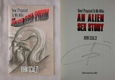 Signed 1st Ed HOW I PROPOSED TO MY WIFE AN ALIEN SEX STORY John Scalzi RARE