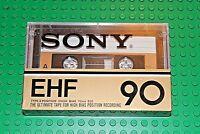 SONY  EHF  90   BLANK  CASSETTE TAPE  (1)  (SEALED)