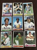 1979 Topps Baseball Cards Lot - Lot Of 100 Cards