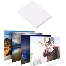 "100Pcs Glossy 7"" 5R Photo Paper For Inkjet Printers Photographic Graphics Output"