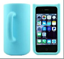 Coffee Mug Design 3D Silicon Back Case Cover for iPhone 4/4s