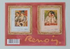 France 2009 bloc feuillet F4406 4406 4407 neuf luxe ** ART Tableaux renoir