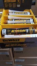 DEWALT POWERS  AC100+GOLD ACRYLIC CONCRETE EPOXY 8478SD QUICKSHOT 10OZ CAULK GUN