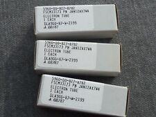 3 x GE  JAN  12AX7WA Röhren-Tubes NOS, matched triple --- E83CC Valve Tube