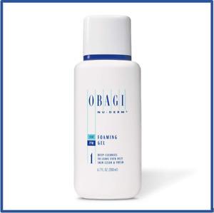 Obagi Medical Nu-Derm Foaming Gel Cleanser 6.7 oz - 1 Pack