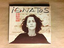 CD / ANGELIQUE IONATOS / D'UN BLEU TRES NOIR / TRES BON ETAT