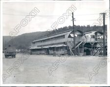 1957 Hollandia New Guinea Rusty Quonset Huts Built during Occupation Press Photo