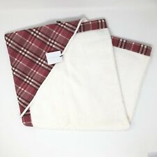 NWT Burberry Children Newborn Baby Wrap Square Terry Towel