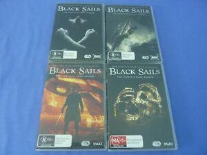 Black Sails DVD Complete Series Season 1-4 Region 4