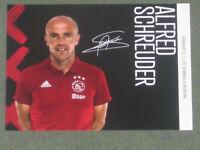 HOLLAND Alfred Schreuder (Ajax Amsterdam) Hoffenheim OHNE UNTERSCHRIFT