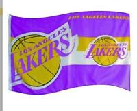 Los Angeles Lakers Flagge Fahne NBA Basketball Team Logo Flag,150x90 cm