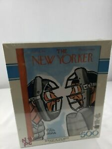 The New Yorker Magazine Bottom of the Ninth 500-Piece Jigsaw Puzzle New Sealed