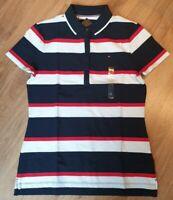 Tommy Hilfiger Damen Polo Shirt Signature Polo Original, Gr. S