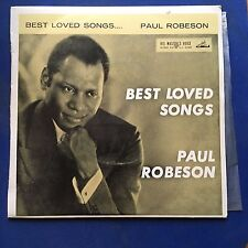 EP Paul Robeson Best Loved Songs Ol' Man River + 3 HMV Label 7EGO VG+